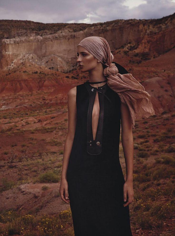 "Waleska Gorczevski in ""Still Life"" by Will Davidson for Vogue Australia October 2015"