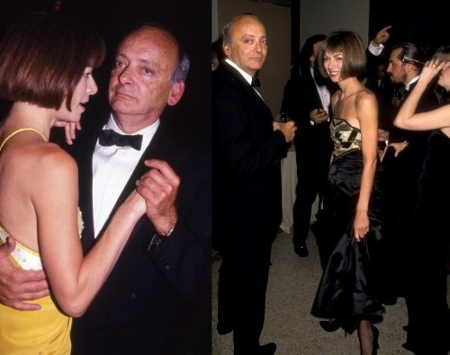 Anna Wintour with husband, Dr. David Shaffer