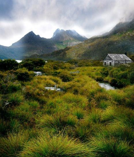 Cabin in Tasmania.