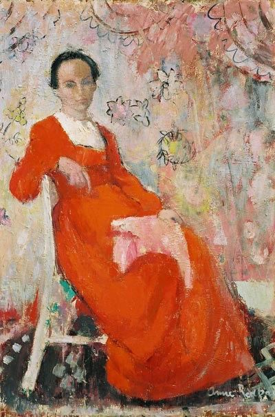 The Girl in Red -- Anne REDPATH.  @kate lyden xx