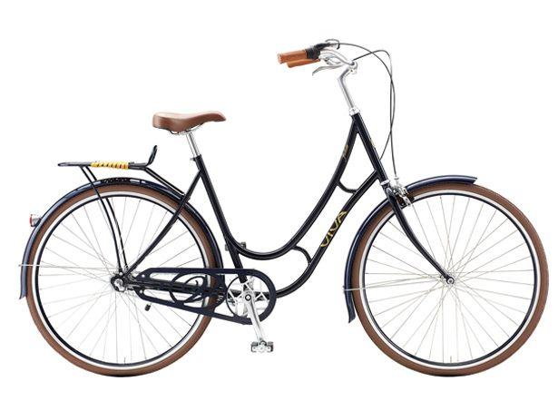 Viva Juliett  http://www.bicycling.com/bikes-gear/commuting/easy-riders-6-urban-bikes-reviewed/slide/4