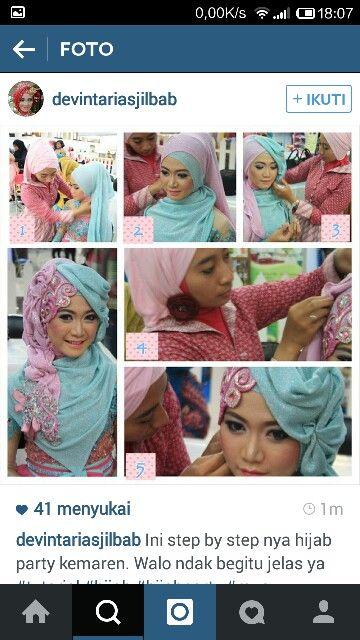 #simplehijab #dailyhijab #hijabtutorial #instagram #hijabparty #muslim #moslem #woman #party #wedding #wisuda
