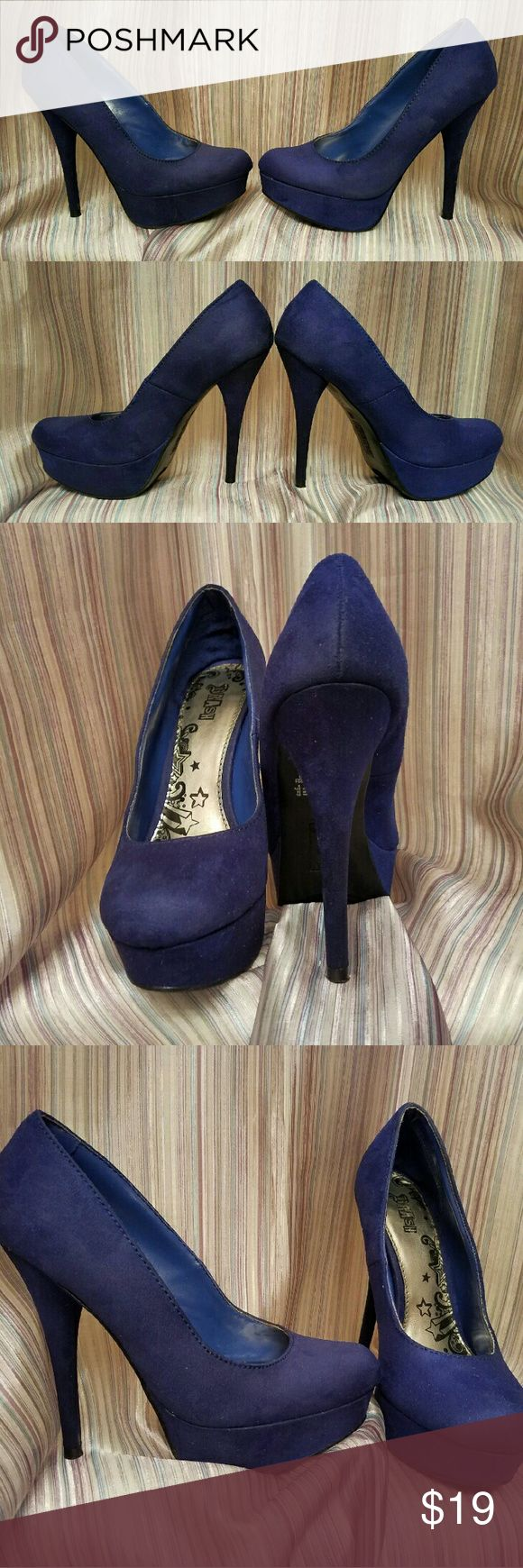 1000  ideas about Royal Blue High Heels on Pinterest | Blue High ...