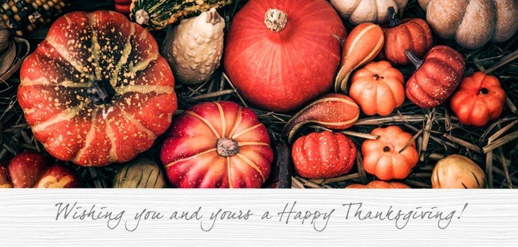 We hope you have as much to be thankful for today as we do. Happy Thanksgiving to all Baume & Mercier followers.