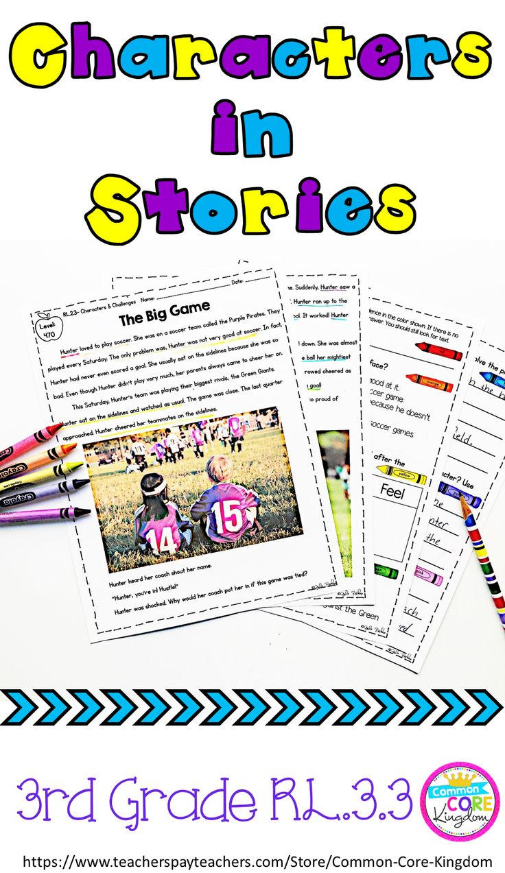 Are you looking for a unit to help your 3rd graders learn how characters respond to major events and challenges? This product includes 10 reading passages, question sets, and an assessment in the third grade text complexity band to teach CCSS RL.3.3.