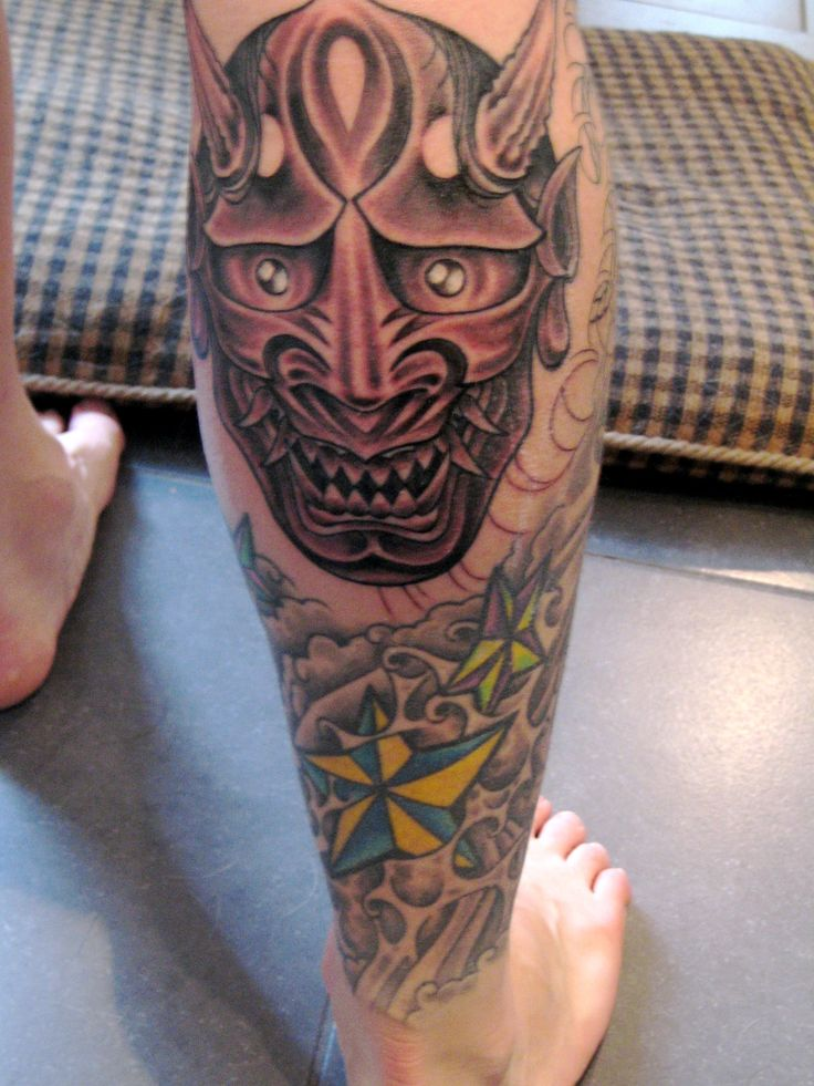 41 best images about hannya mask tattoos on pinterest for Hannya mask tattoo