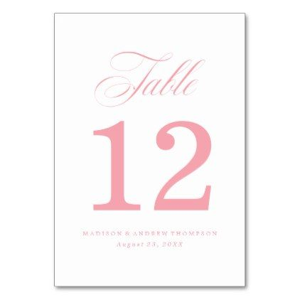 Beloved | Wedding Table Number Cards - script gifts template templates diy customize personalize special