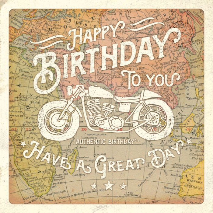 Birthday ~ Gareth Williams - Motorbike