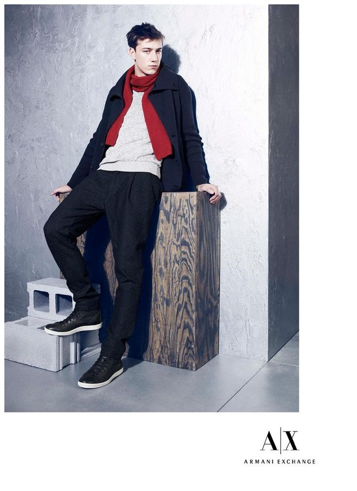 Armani Exchange Features Smart Outfits for December 2014 Look Book image Armani Exchange Mens Styles December 2014 Look Book 002