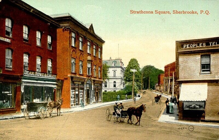 Square Strathcona    Coin des rues Dufferin et Frontenac