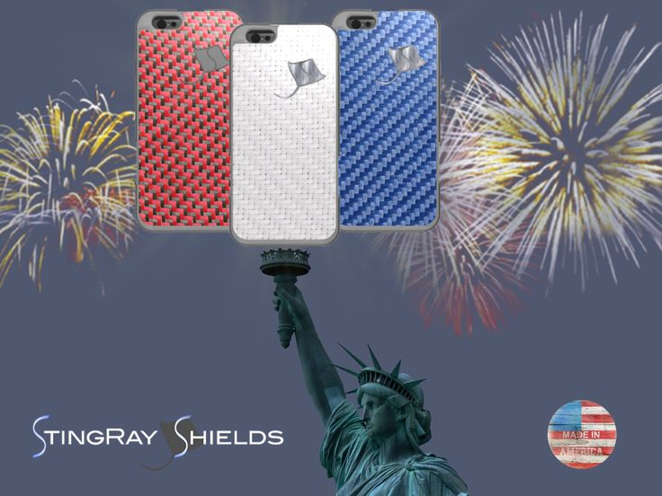 Be Independent from cell phone radiation exposure!  Happy 4th of July! www.stingrayshields.com