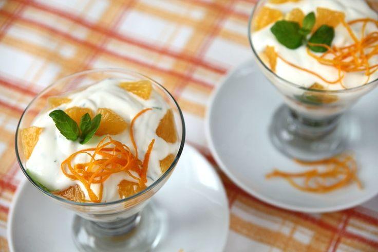 Pomarańczowy sorbet