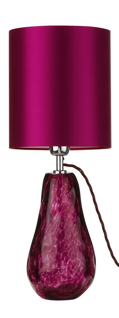 Fuchsia Color of the lampshade is exactly the color I want for my foyer! ❤️