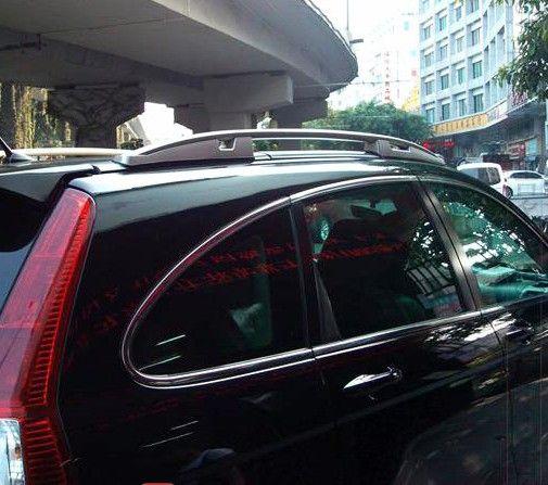 Для Honda CR-V CRV 2007 2008 2009 2010 2011 Алюминиевый Сплав Багажник на крыше Боковые Ограждения Бары На Открытом Воздухе Путешествие Багажа 2 Шт. Стайлинг...