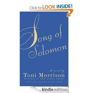 Song of Solomon: Toni Morrison: Amazon.com: Kindle Store