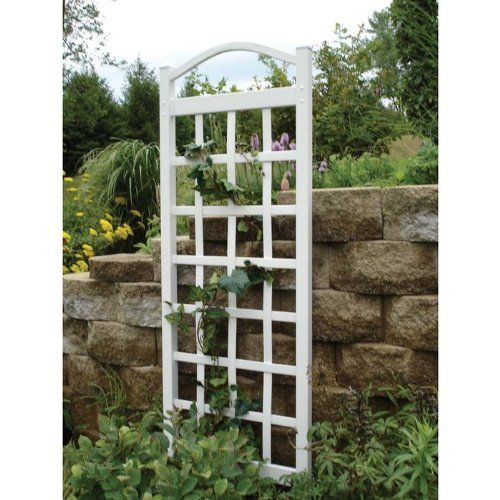 26 best lattice fencing plant supports images on pinterest