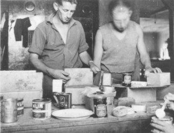 KLIM  (MILK) in tins.