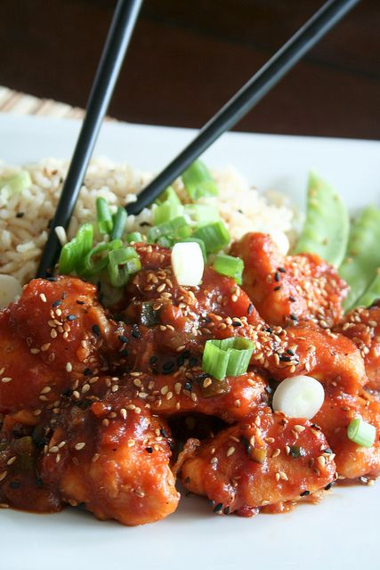 General Tao Chicken (Gone Healthy) Totally Awesome!!!
