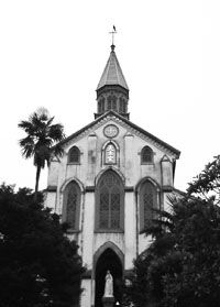 It was in 1865 when Fr. Petitjean dramatically met crypto-Christians at Oura Cathedral in Nagasaki. Japan had been closed for 250 years and Cristianity outlawed. These Christians had hidden all that time. About 60 titles by Fr. Petitjean from 1868 to 1883 were published in secret since the Edo Shogunate had banned Christianity. In 1873, the Ban on Christianity was abolished.