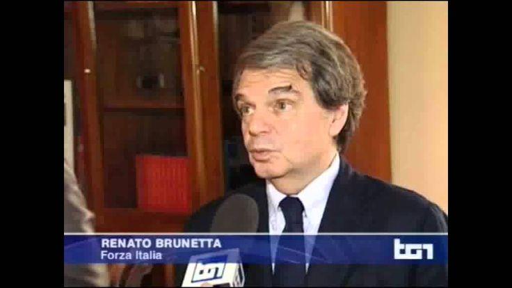 Renato Brunetta al Tg1 - 18/11/2013