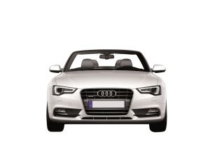White Audi A5 Convertible Cabriolet 2013 a Lighter Drive with Cabrio - Clear Transparent PNG Images - clearPNG