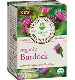 Another great tea for the spring time, burdock root has been used for food and to promote good health by cultures around the world. Our herbalists love this burdock root tea for its capacity to promote healthy kidneys and beautiful skin* and for its enjoyably rooty, sweet and slightly bitter taste. Also said to help with Diabetes