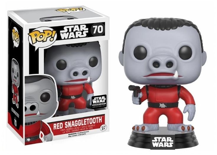 Funko POP! Star Wars RED SNAGGLETOOTH #70 Vinyl Figure #funko #pop #funkopop #snaggletooth #red #starwars #vinyl #toy