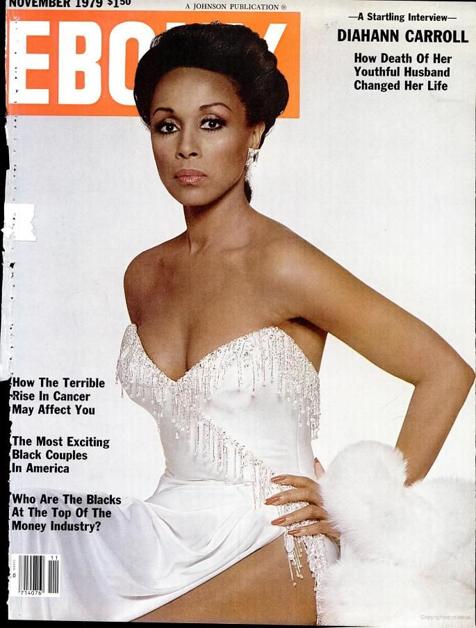 the beautiful Diahann Carroll (Nov 1979)