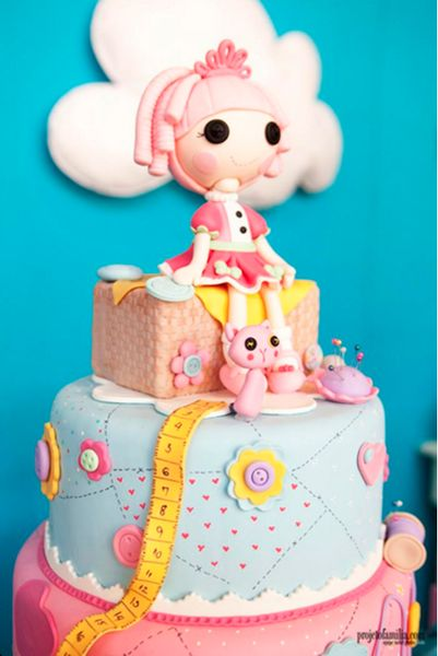 16 Fantastic lalaloopsy Inspired cakes, cupcakes, cakepops and cookies