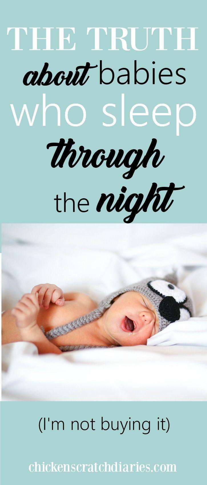 Lol! The real story behind the peacefully-sleeping-babies phenomenon. #MomHumor #babies #momlife