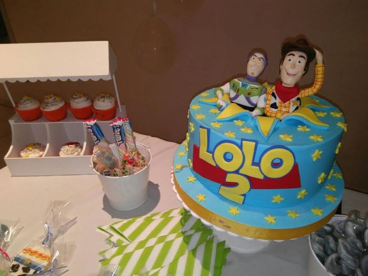 Toy Story Torta de cumpleaños