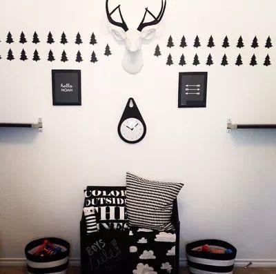 Найджел сестра Ins детские наклейки комнате стены деревьев импортированы ПВХ наклейки ребенок украшение помещения оптовая Европы и Америки - Taobao