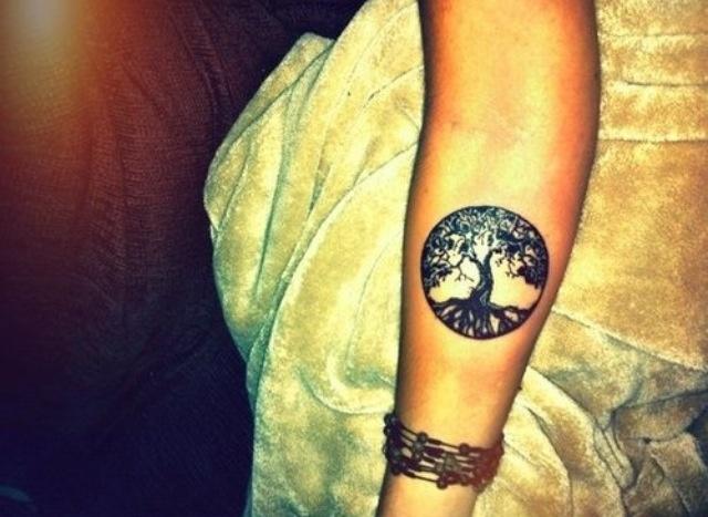 Tree in circle... So cute Life tattoos, Tattoos, Sleeve