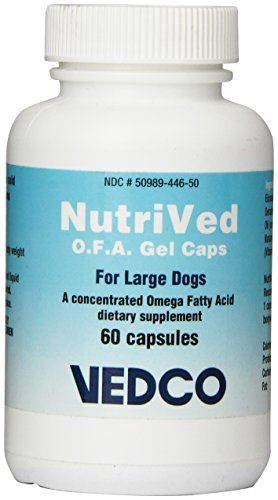 Vedco 60 Count Nutrived OFA Gel Capsules for Large Dogs *** Check out the image by visiting the link.