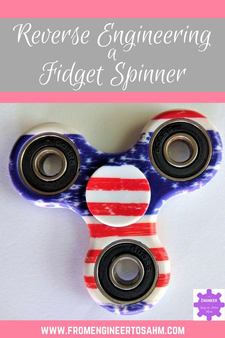 Reverse Engineering a Fidget Spinner How