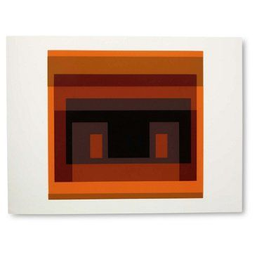 Check out this item at One Kings Lane! Josef Albers, Portfolio 1, Folder 28B