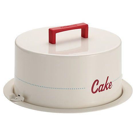 Perfect Buy Cake Boss Metal Cake Carrier Online at johnlewis