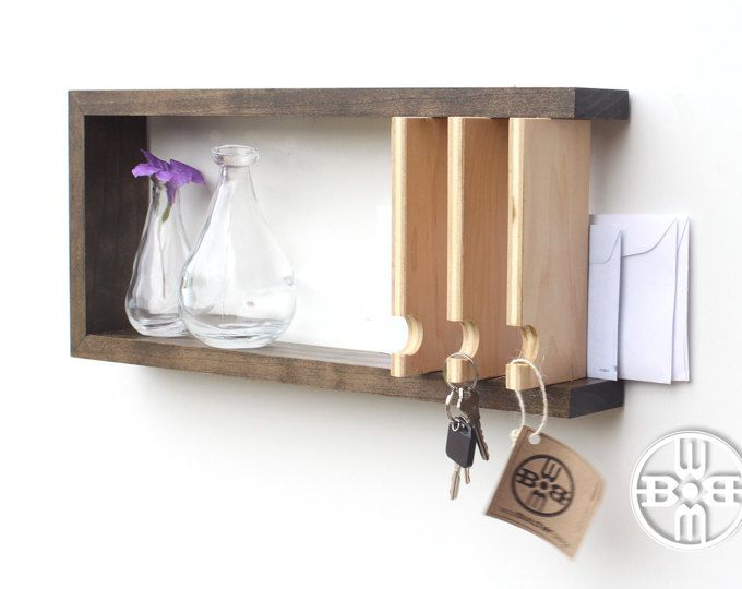 Entryway Key Rack Key Hook Key Holder For Wall Key And Mail