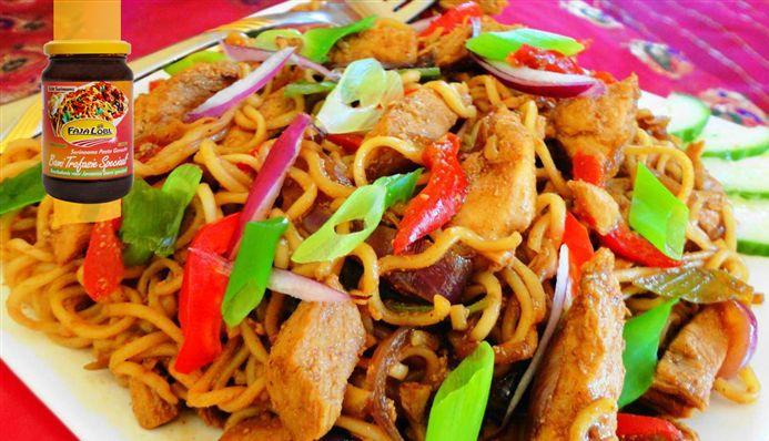 Surinaams eten – Bami Beef (woknoedel met Surinaams rundvlees)