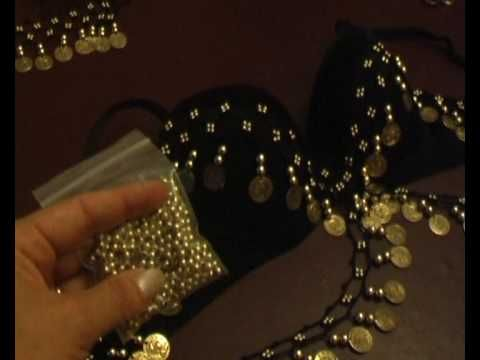 Confección ropa danza del vientre: 2 parte del tutorial n.1