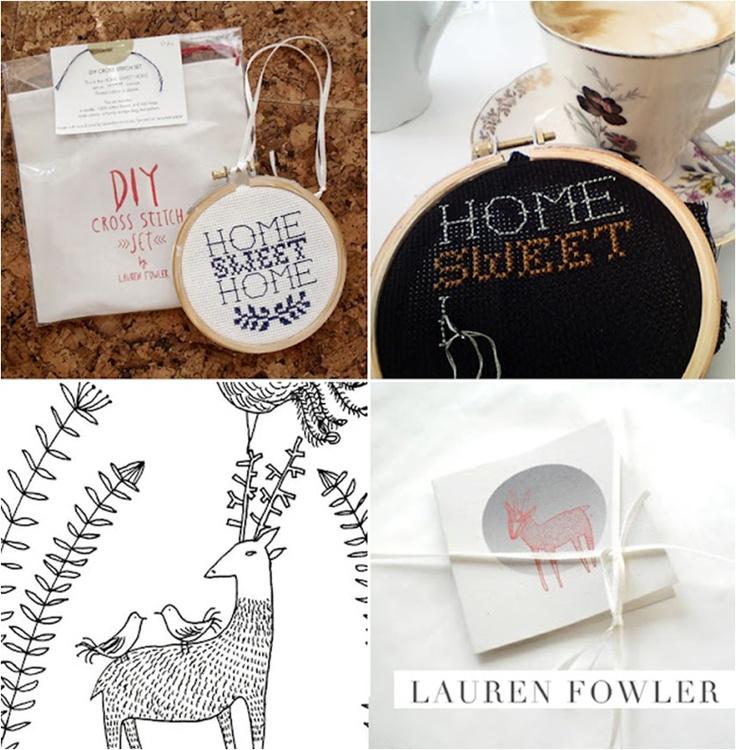 Lauren Fowler Cross Stitch, Image Source Tracy Lee Lynch