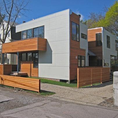 Contemporary Exterior garage apartments Design Ideas ... on Modern Siding Ideas  id=82802