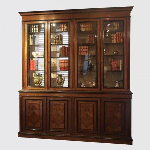 404 En 2020 Bibliotheque Ancienne Noyer Bois Bibliotheque