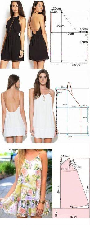 Sommerkleid Muster   2019  #muster #sommerkleid #Trendige Sommer Kleider  Sommer… – Handarbeit
