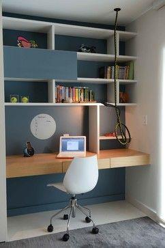 Ideen für das Home Office-Design, Bilder, Umgestaltungen und Dekor  #bilder #de…