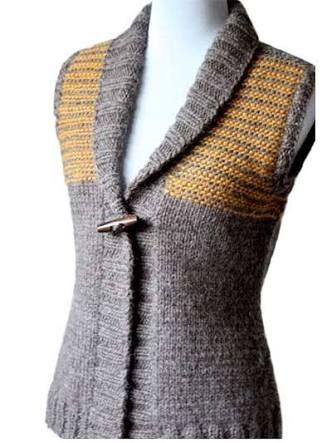 Resultado de imagen para knitting vest patterns