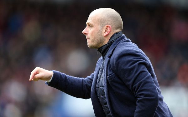 Adam Murray Photos Photos - Mansfield Town manager Adam Murray gives instructions during the Sky Bet League Two match between Mansfield Town and Northampton Town at One Call Stadium on March 28, 2016 in Mansfield, England. - Mansfield Town v Northampton Town - Sky Bet League Two