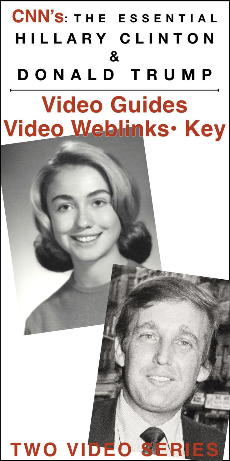 CNN's: The Essential Hillary Clinton & Donald Trump Video Guides plus video web link documentaries details Hillary Clinton's life and rise through politics to be the first woman presidential nominee and Donald Trump's life and his rise through business and ambition to be president. Answer keys are provided. Worksheets have 27 & 30 questions covering the 85 minute videos. These can be used for as sub plans to teach history, government or the election process.