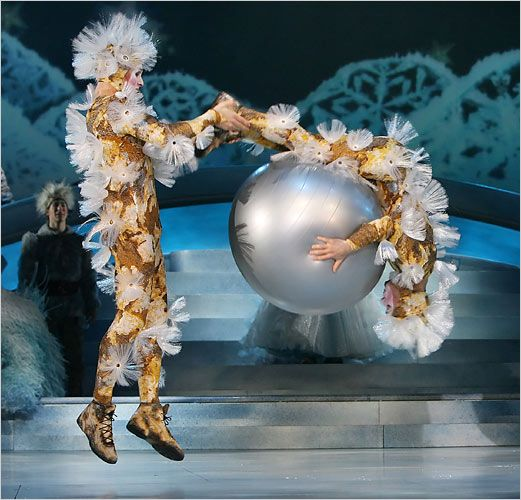 Metallic Outfits  - Cirque du Soleil