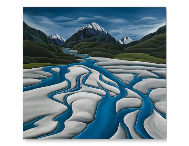 diana adams print rivers reach. next acquisition